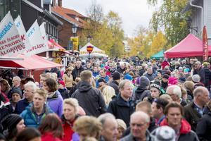I fjol kom 20 000 besökare till Åre Höstmarknad.