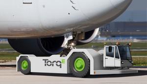 Hybriden ska kunna bogsera tunga flygplan.