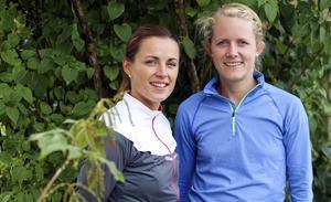 De båda idrottslärarna Johanna Björklund-Hansson och Lina Schols har dragit igång vildmarkslöpning i Bollnäs.