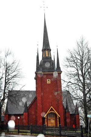 375-årsjubileet avslutas. Bygget av Ljusnarsbergs kyrka inleddes 1635.