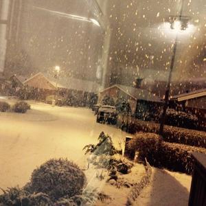 Från min köks fönster kl 7