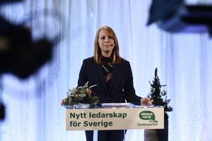 Ann Lystedt blev provocerad av en VLT-ledare av Kajsa Dovstad  om Centerpartiet uppgång