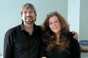 Tony Granholm och Ulrika Fagernäs i Alfta har känt varandra sedan barnsben. De växte båda upp i finska Jakobstad.