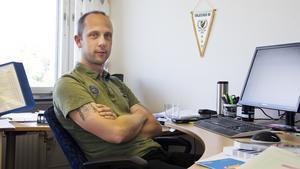 Tord Johansson, fastighetschef NVK.