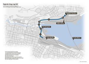 Planerna för gamla E4 innefattar färre körfält.