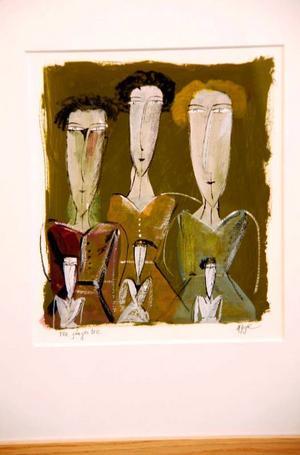 Madeleine Pyks konst ser ut som Madeleine Pyks konst alltid har gjort, fortfarande med samma glädje i uttrycket.