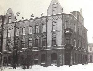Sundsvalls Tidnings nya hus på Trädgårdsgatan 23.