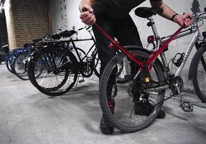 Cyklarna på bilden har inget samband med texten.