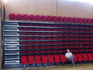 Sal för konsert, bio och teater. Bild: Bild: Bengt Kebbón.