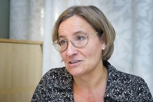 Kristina Säfsten, vd för Övik Energi är positivt överraskad över årets resultat.