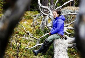 Malin Sahlin, skogshandläggare, Svenska naturskyddsföreningen.