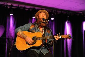 Gabriel Kelley besökte senast Bollnäs i mars och hade då en spelning på Kulturhuset.