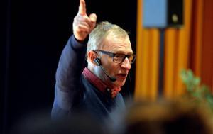 Stig Wiklund gav en fingervisning om vilka vägar som finns till välmående.