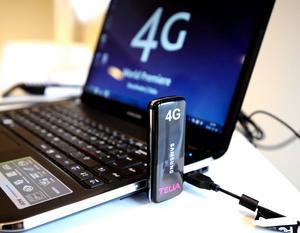 TeliaSonera är först ut med satsningen på 4G.