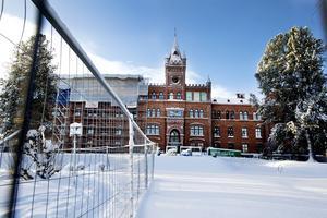 Nya högstadieskolan Vallbacksskolan öppnar till hösten.