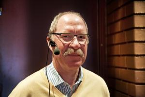 Thomas Sundström, professor i lungmedicin, deltog i koldagen på Hullsta Gård.