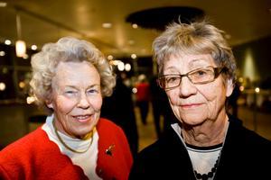 Kerstin Broberg och Maj-Britt Frändå, båda från Örebro.