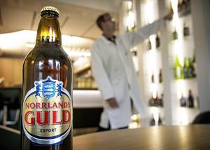 Sveriges största öl med Ångermanlands vapen på etiketten görs i Svealand
