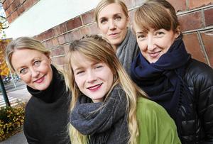 Lena Andersson, Karin Söderberg, Hanna Fogelberg och Märta Lööv har ägnat mycket kraft det senaste halvåret på arrangemanget Formveckan som i år har temat boendeform.