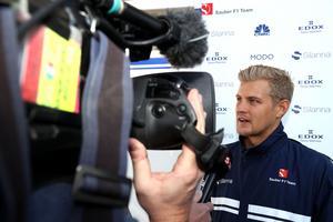 Marcus Ericsson var nöjd med att för tredje kvalet i rad ha varit före teamkompisen Pascal Wehrlein när han intervjuades av Viasat efter kvalet i Mexiko City.