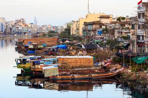 Ho Chi Minh-staden är en av världens billigaste städer.