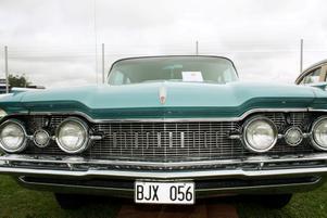 Göran Gradin från Enköping har lagt ner mycket kärlek på sin Oldsmobile från 1958.
