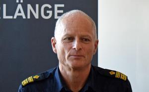 Mats Lagerblad betonar vikten av polisiär närvaro.