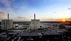 Forsmark kärnkraftsverk. Reaktorerna Forsmark 1, 2 och 3 Foto: Tomas Oneborg/TT