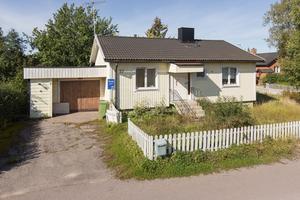 Mest klickat i Heby – huset på Skiljevägen 17. Foto: Länsförsäkringar Fastighetsförmedling