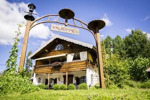 Inspiration till bostadshuset hittades i Österrike. Bernt är oerhört nöjd med sitt bygge.