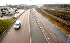 Bygget på gamla E4 i Bredsand kommer att dröja.