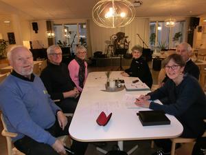Styrelsen : Hans-Ola Larsson, Bengt-Olov Rylander, Lena Bodare, Gunnel Lindqvist, Örjan Tjärnström, Marie Nordborg. Gunilla Hallberg saknas på bilden.