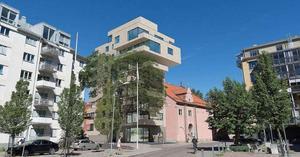 Det här huset planeras i kvarteret Lothar vid  Mimergatan. Bild: Archus Arkitektur