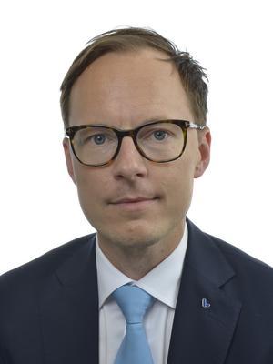 Mats Persson, ekonomisk-politisk talesperson (L).