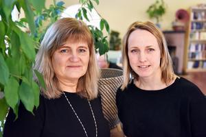 Tina Svärd och Ros-Mari Håmås berättar om verksamheten.