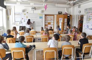 Utbildning, det allra viktigaste. Foto: Jonas Ekströmer / TT