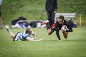 Södertälje rugbyklubb var en va vinnarna. Bild:  Jonas Tetzlaff
