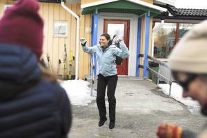 Då kronprinsessan Victoria nyligen besökte Vemdalens skola i samband med sin landskapsvandring i Härjedalen, fick hon se prov på elevernas fysiska aktiviteter.