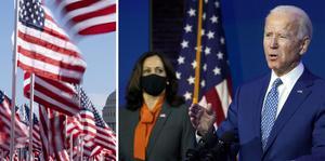 Under onsdagskvällen svensk tid svärs Joe Biden och Kamala Harris in som USA:s president och vicepresident.