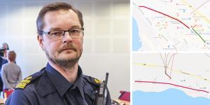 Mats-Ove Edvinsson är kommenderingschef för polisen under alpina VM i Åre.