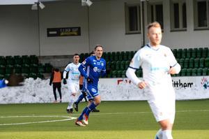 Kim Skoglund spelade nästan hela matchen för GIF. Mittfältaren byttes ut i den 89:e minuten.