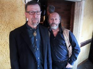 Tommy Dahlström och Bobo Eriksson är två eldsjälar bakom Hedemora Blues Jam.