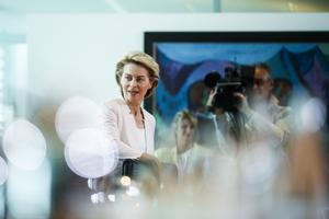 Tysklands försvarsminister Ursula von der Leyen är föreslagen som ny kommissionsordförande. Foto: Markus Schreiber