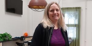 Helen Ajdert Erlandsson, butikschef på PMU Pingstkyrkans second handbutik i Köping, ser fram mot Kenyaresan.