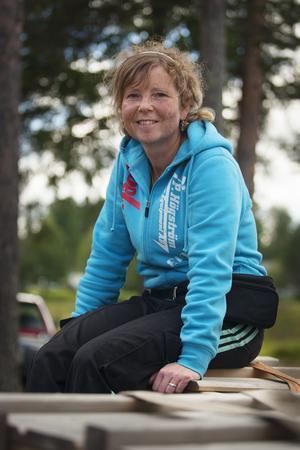 Susanne Söderman är mässgeneral för Joelmässan och ser fram emot en ny folkfest i Hammerdal.Foto: Victor Holm