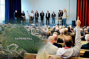 Boende på Gnejsvägen skriver att kommunen har mycket att vinna på att lyssna till de boendes synpunkter. Bild: Håkan Humla / Stadsbyggnadskontoret (montage)