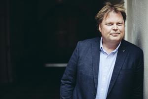 Deckarförfattaren Jörn Lier Horst, aktuell med boken