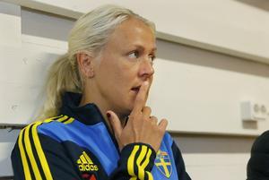 Josefine Öqvist, här i landslagsdräkten, är med i nästa säsong av Mästarnas mästare.