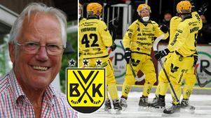 Lars Forssell var ordförande i Vetlanda BK under elva år, 1975-1982 och 1985-1989. Han skriver bland annat att