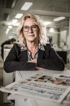 Helena Nyman, chefredaktör DT.